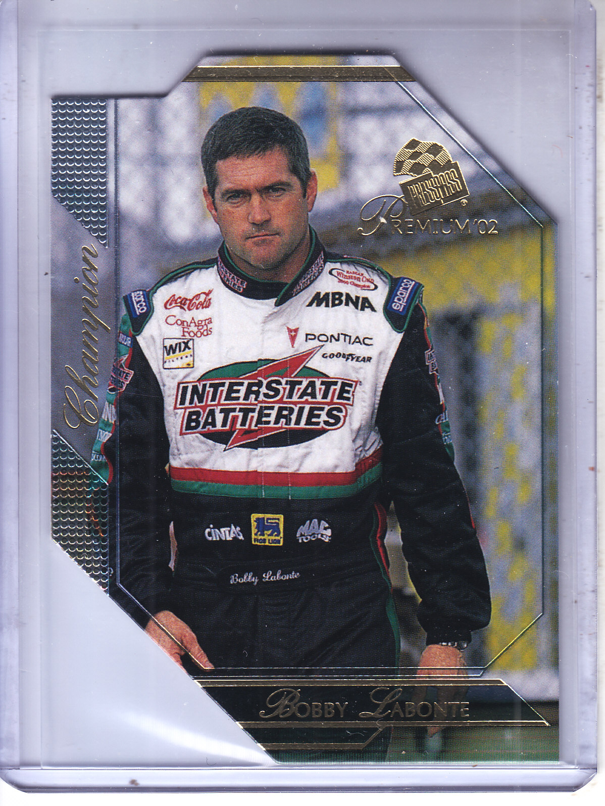 2002 Press Pass Premium #53 Bobby Labonte CH