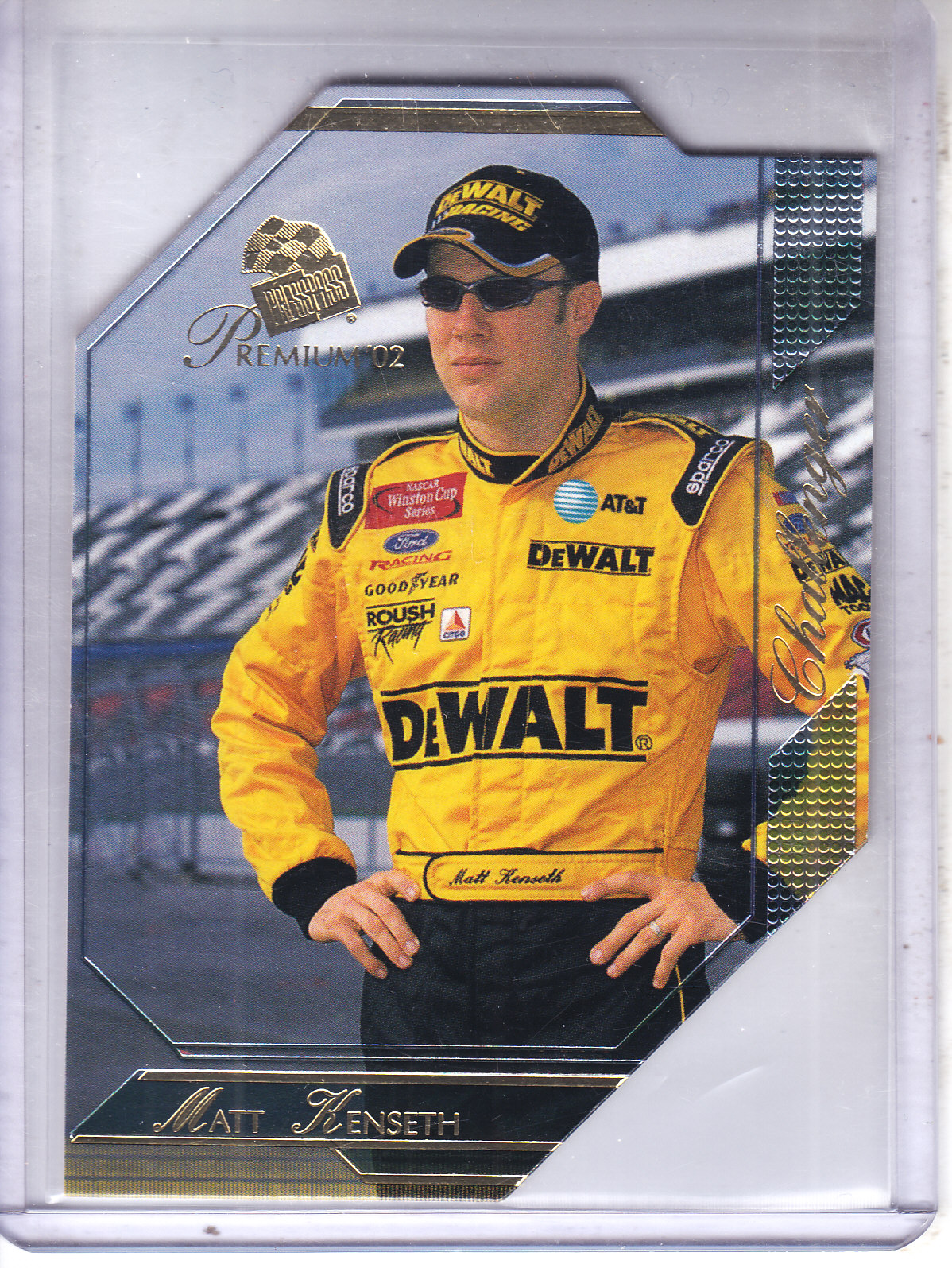 2002 Press Pass Premium #63 Matt Kenseth CH