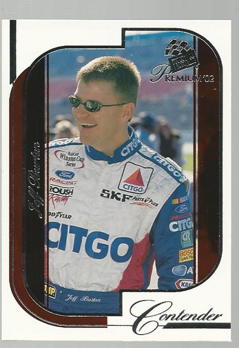 2002 Press Pass Premium Red Reflectors #3 Jeff Burton