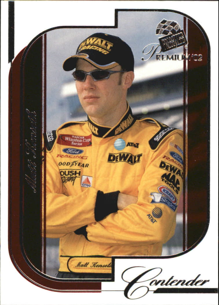 2002 Press Pass Premium Red Reflectors #15 Matt Kenseth