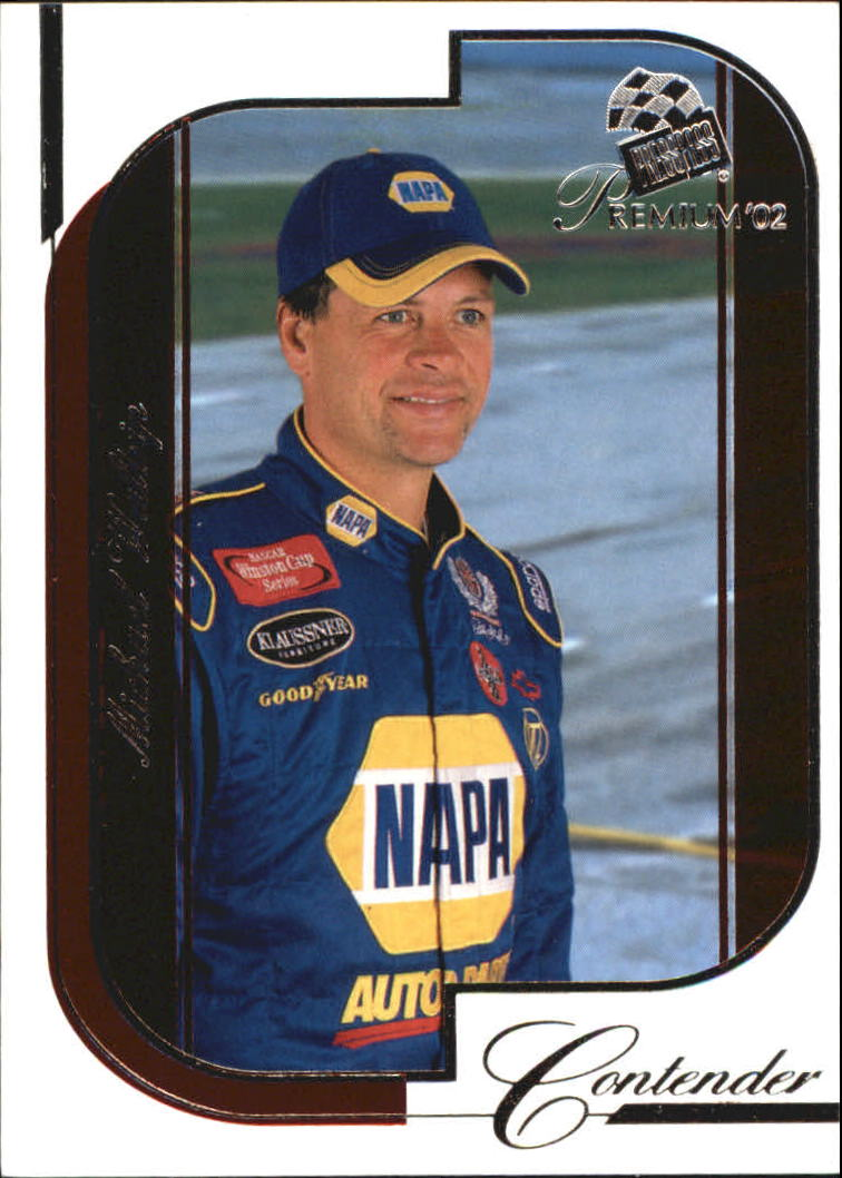 2002 Press Pass Premium Red Reflectors #33 Michael Waltrip