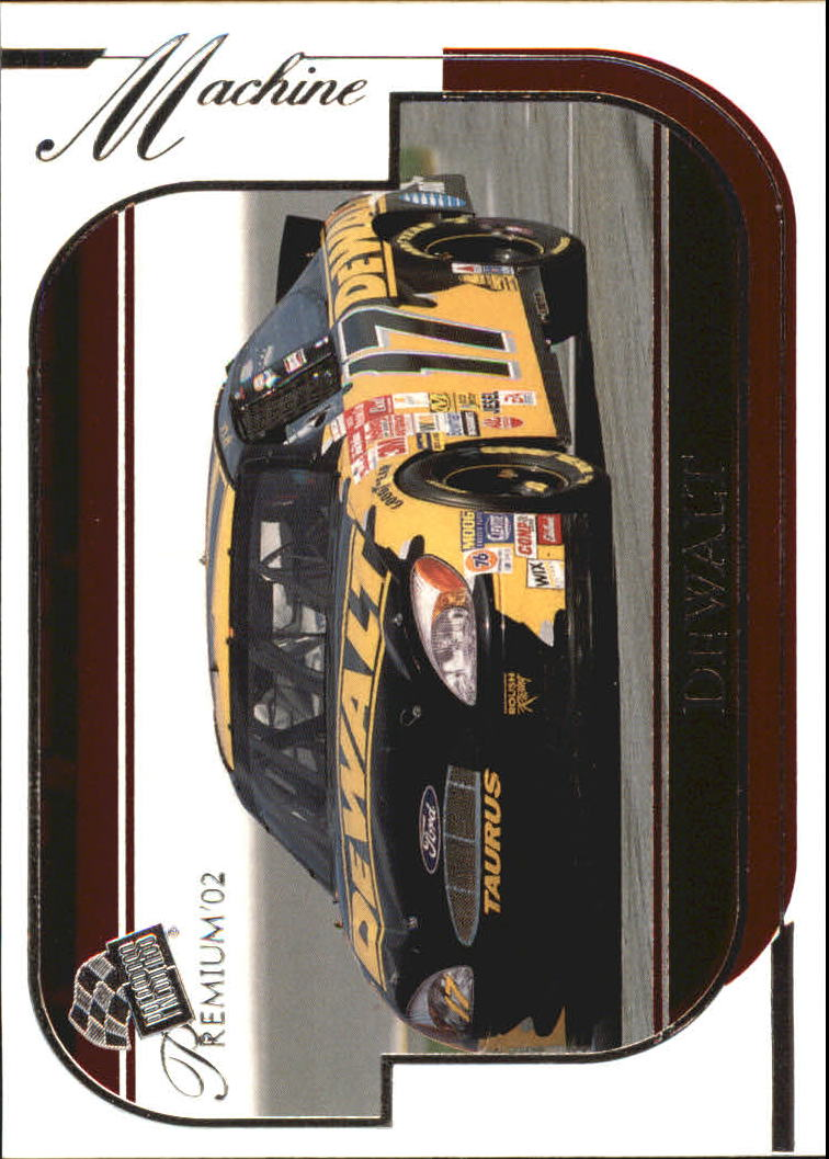 2002 Press Pass Premium Red Reflectors #41 Matt Kenseth's Car