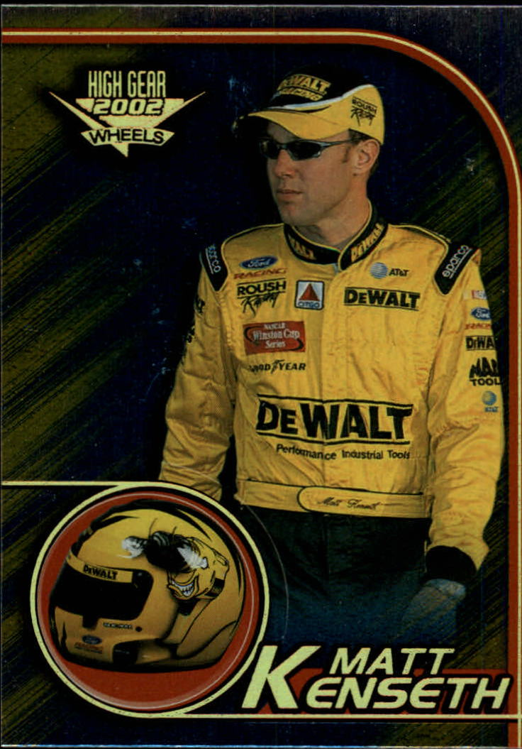 2002 Wheels High Gear First Gear #11 Matt Kenseth