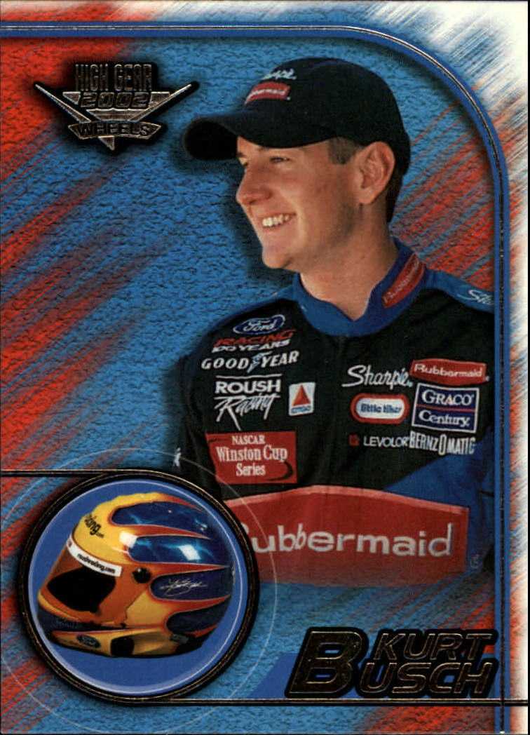 2002 Wheels High Gear #4 Kurt Busch