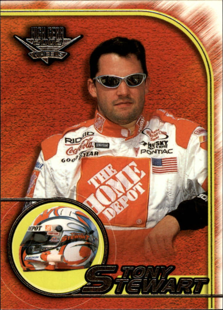 2002 Wheels High Gear #25 Tony Stewart