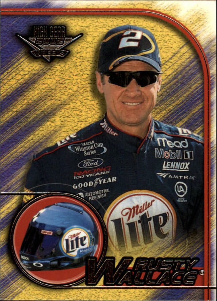 2002 Wheels High Gear #26 Rusty Wallace