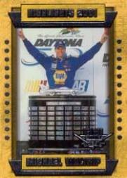 2002 Wheels High Gear #60 Michael Waltrip HL