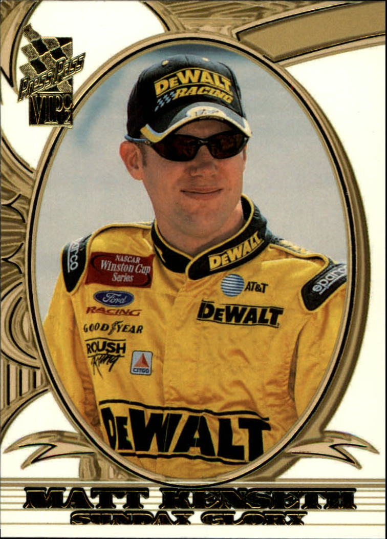 2002 VIP #20 Matt Kenseth SG