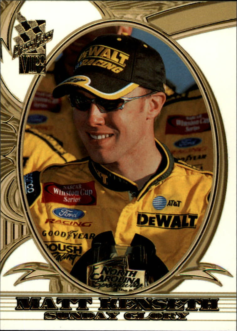 2002 VIP #24 Matt Kenseth SG