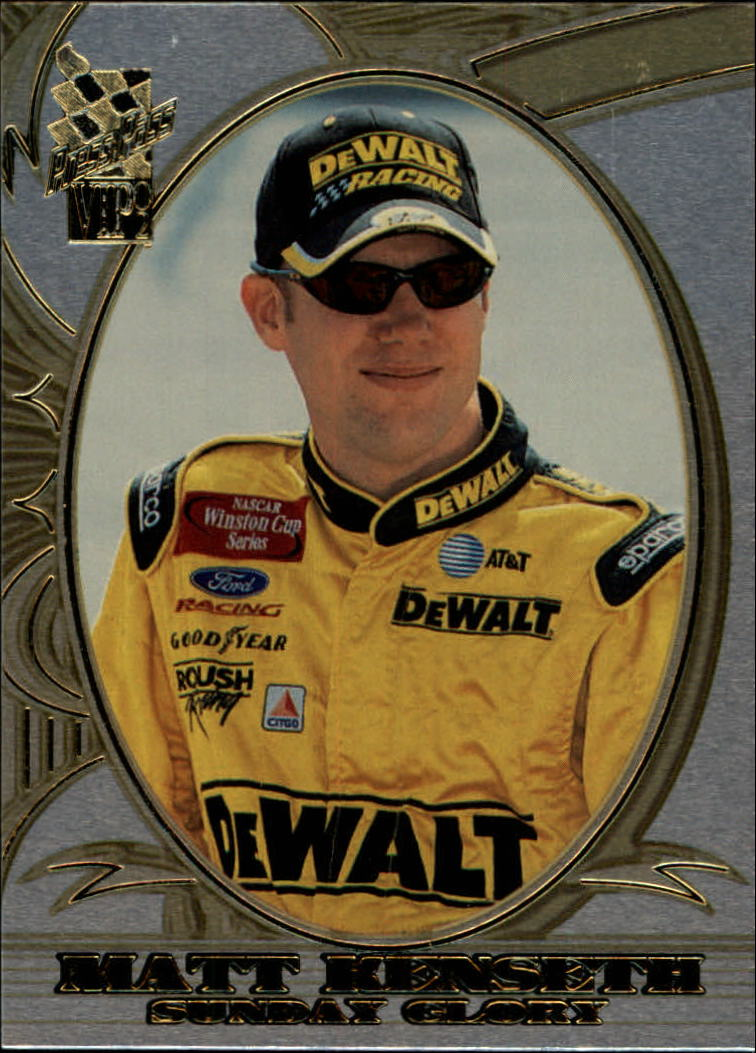 2002 VIP Explosives #X20 Matt Kenseth SG