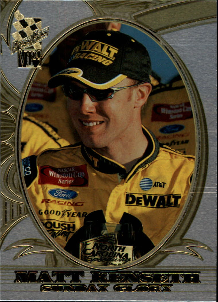 2002 VIP Explosives #X24 Matt Kenseth SG