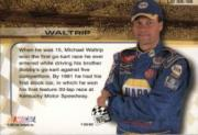 2002 Press Pass Trackside License to Drive #35 Michael Waltrip back image