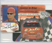 2002 Press Pass Trackside License to Drive Die Cuts #8 Dale Earnhardt Jr.