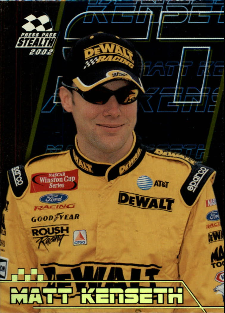 2002 Press Pass Stealth Gold #16 Matt Kenseth