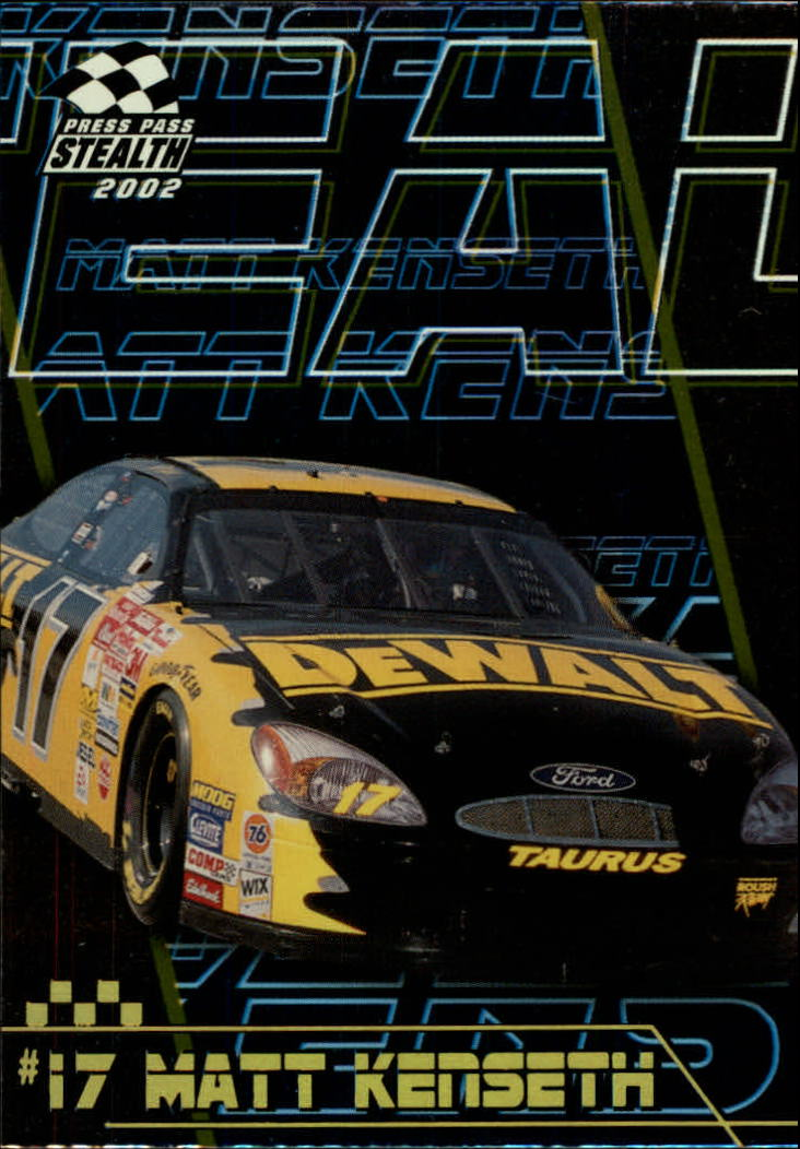 2002 Press Pass Stealth Gold #17 Matt Kenseth's Car