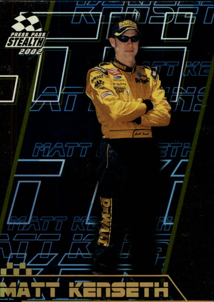 2002 Press Pass Stealth Gold #18 Matt Kenseth