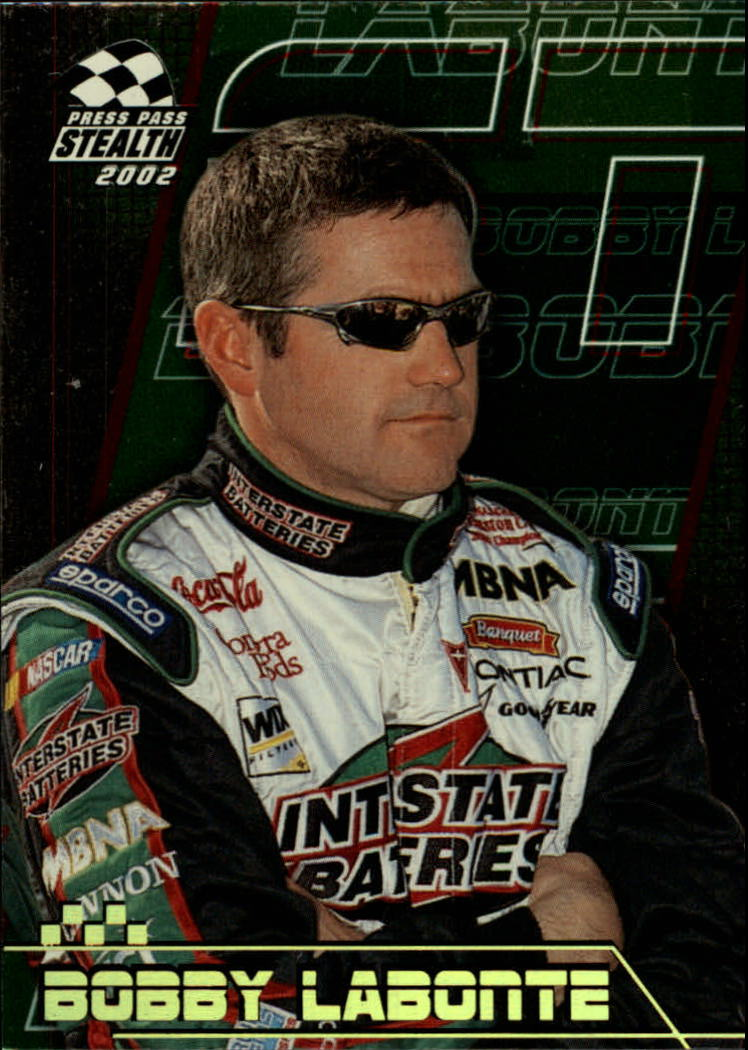 2002 Press Pass Stealth Gold #19 Bobby Labonte