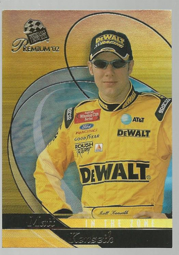 2002 Press Pass Premium In The Zone #IZ7 Matt Kenseth