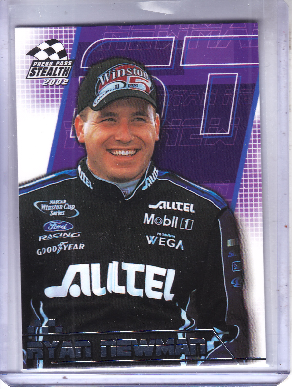 2002 Press Pass Stealth #13 Ryan Newman CRC