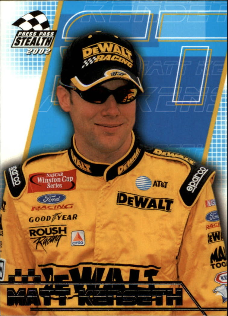 2002 Press Pass Stealth #16 Matt Kenseth
