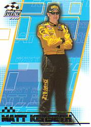 2002 Press Pass Stealth #18 Matt Kenseth