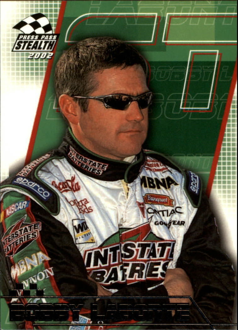 2002 Press Pass Stealth #19 Bobby Labonte