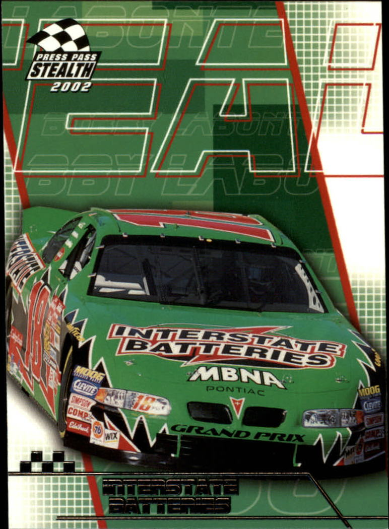2002 Press Pass Stealth #20 Bobby Labonte's Car