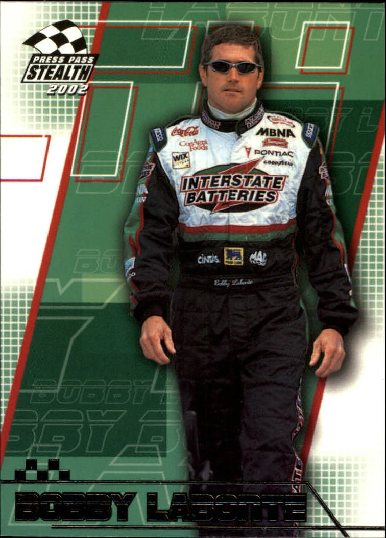2002 Press Pass Stealth #21 Bobby Labonte