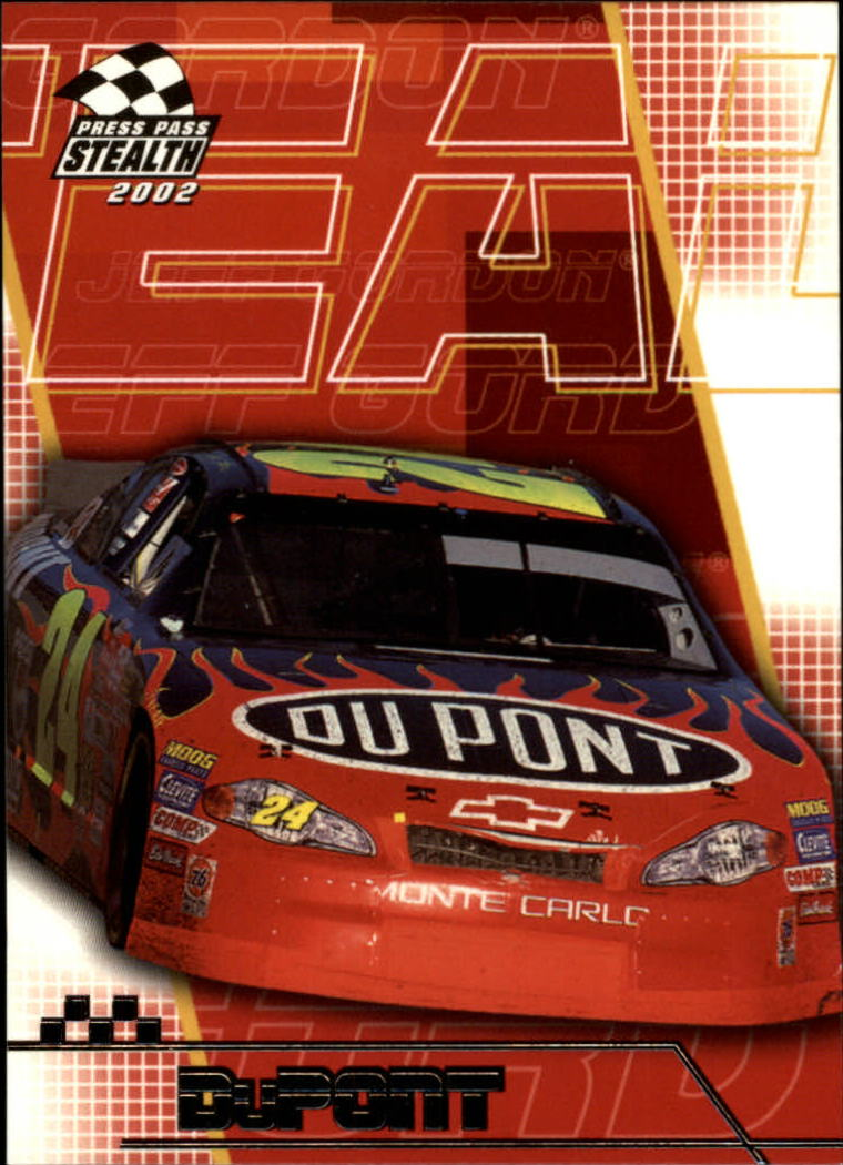 2002 Press Pass Stealth #29 Jeff Gordon's Car