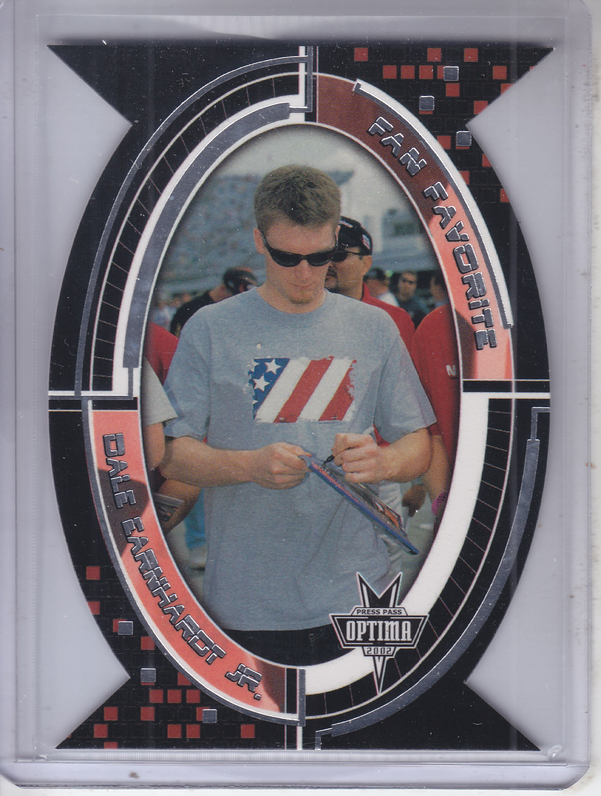 2002 Press Pass Optima Fan Favorite #FF6 Dale Earnhardt Jr.