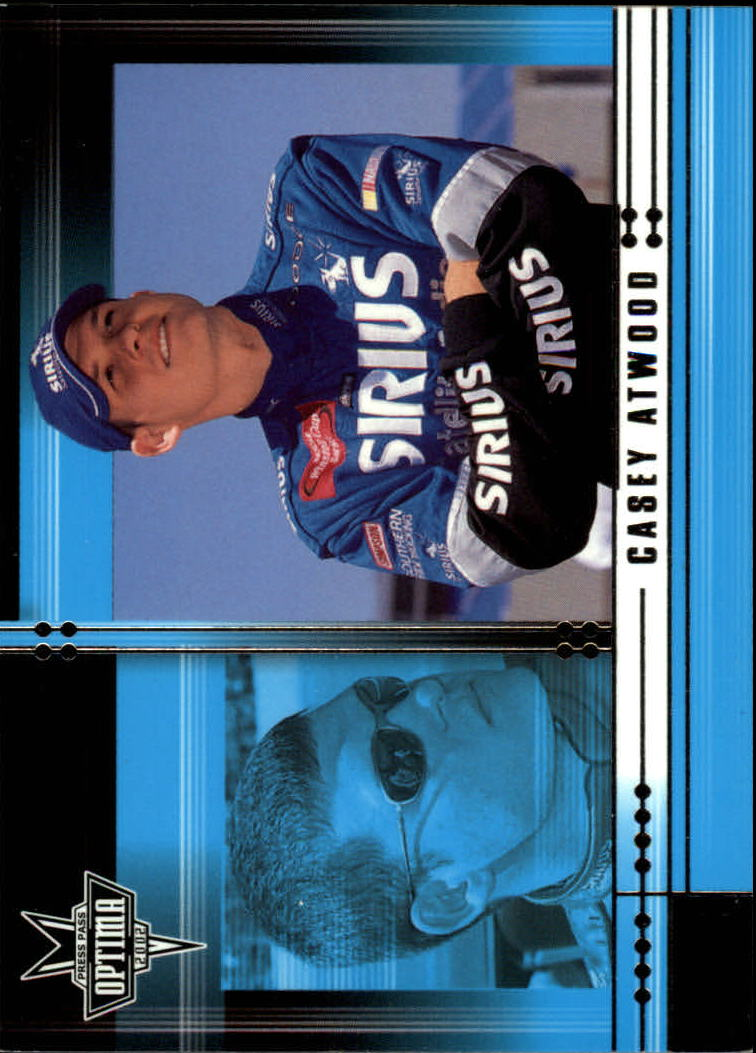 2002 Press Pass Optima #1 Casey Atwood