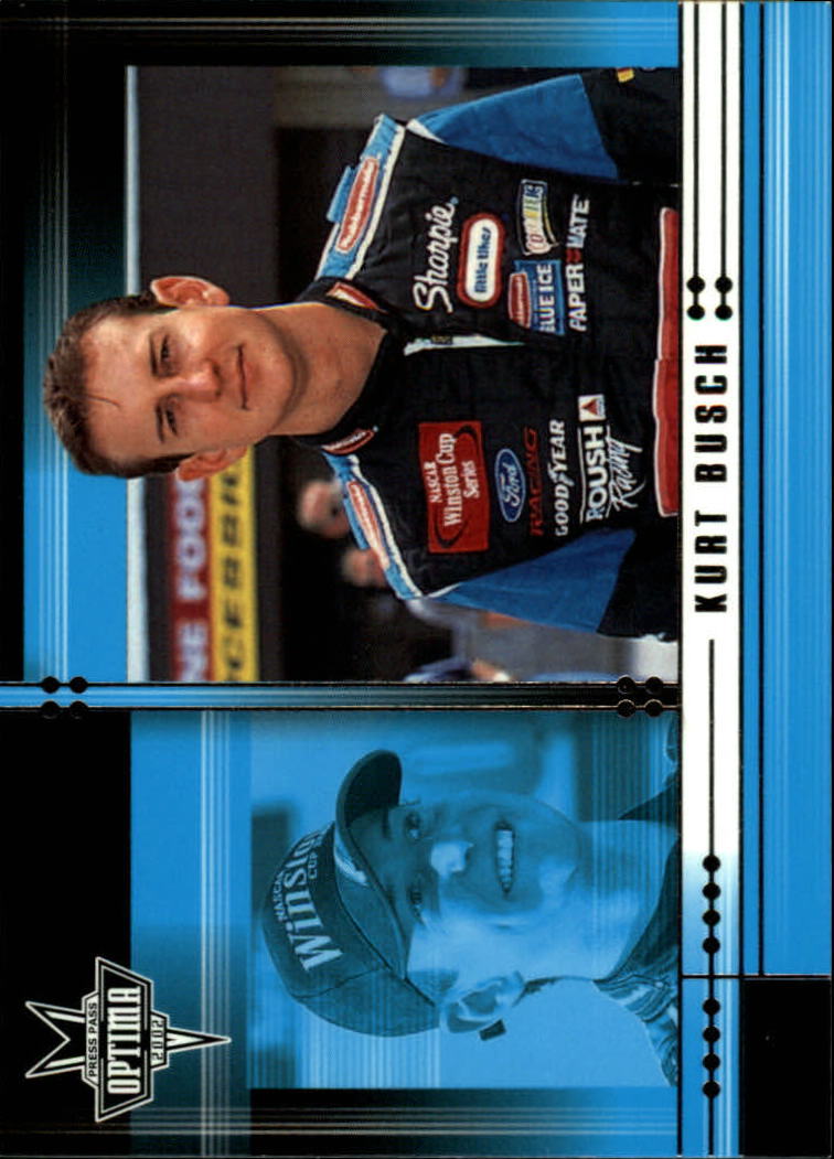 2002 Press Pass Optima #5 Kurt Busch