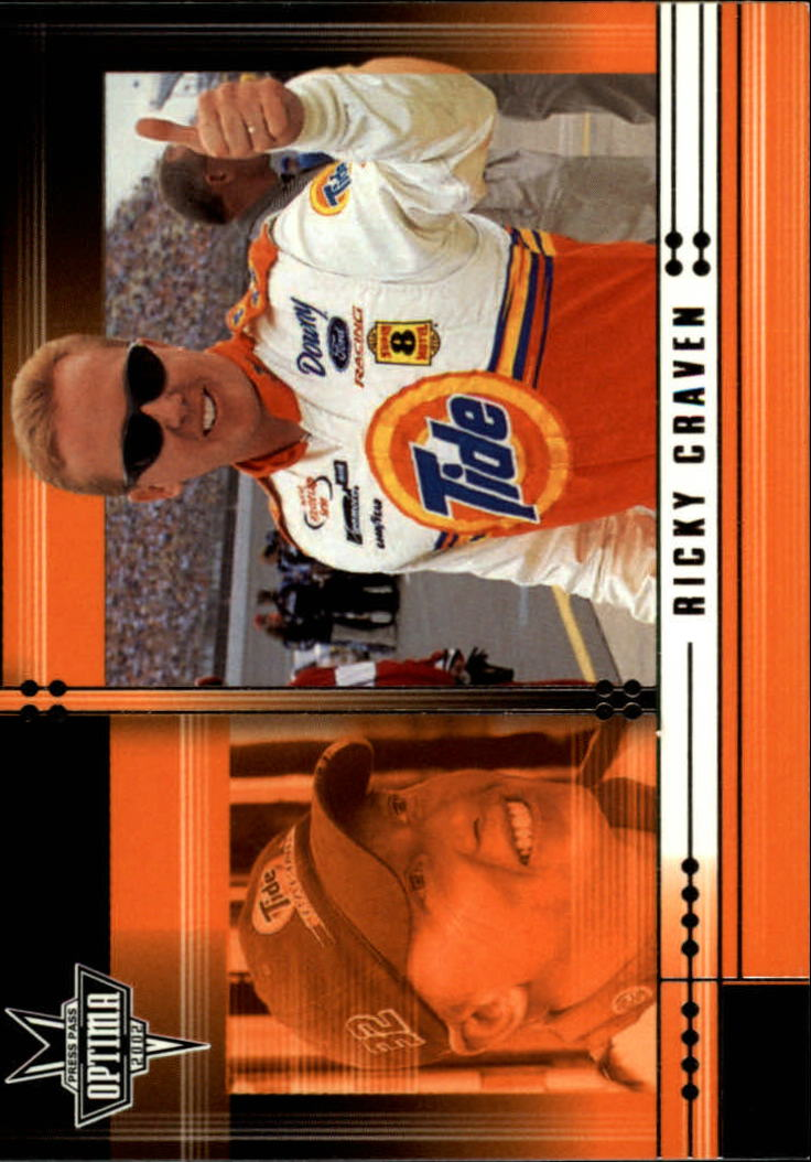 2002 Press Pass Optima #6 Ricky Craven