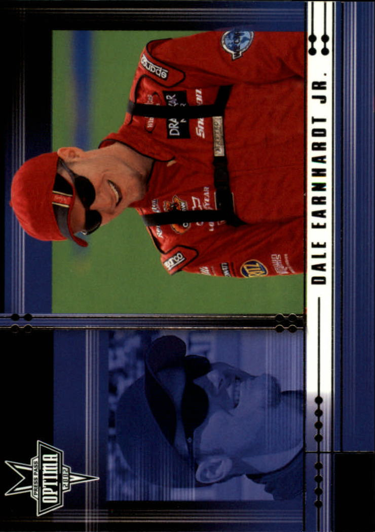 2002 Press Pass Optima #7 Dale Earnhardt Jr.