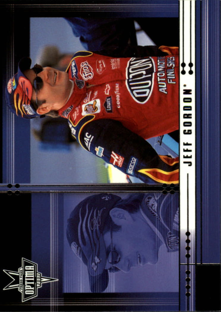 2002 Press Pass Optima #8 Jeff Gordon