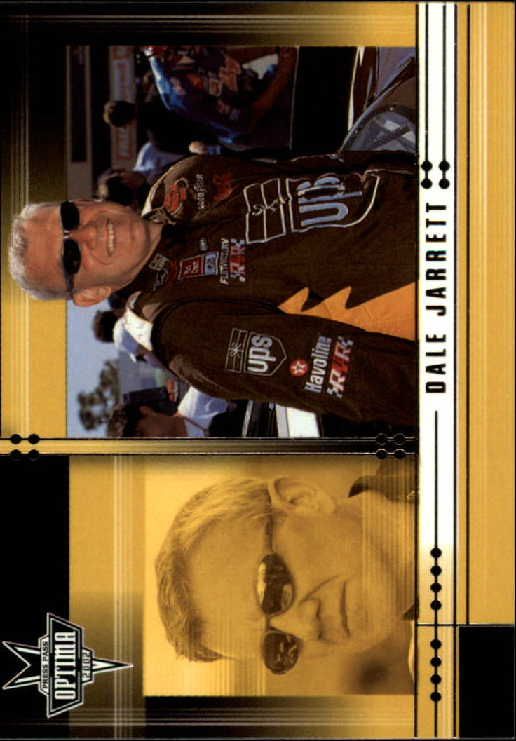 2002 Press Pass Optima #13 Dale Jarrett