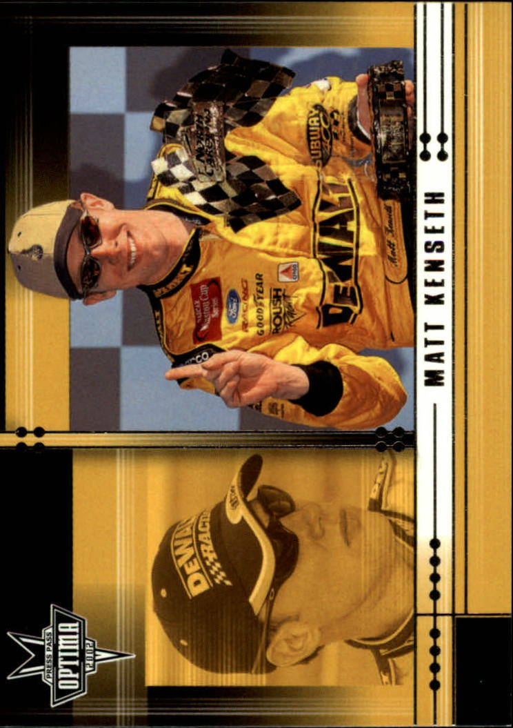 2002 Press Pass Optima #15 Matt Kenseth