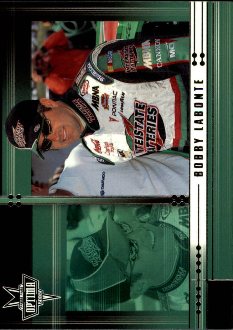 2002 Press Pass Optima #16 Bobby Labonte