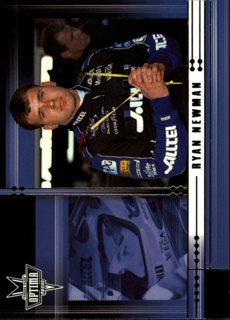 2002 Press Pass Optima #21 Ryan Newman CRC