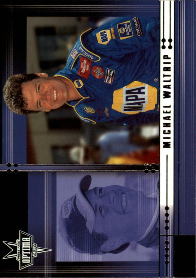 2002 Press Pass Optima #30 Michael Waltrip