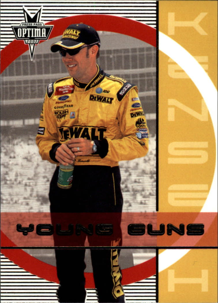 2002 Press Pass Optima #50 Matt Kenseth YG