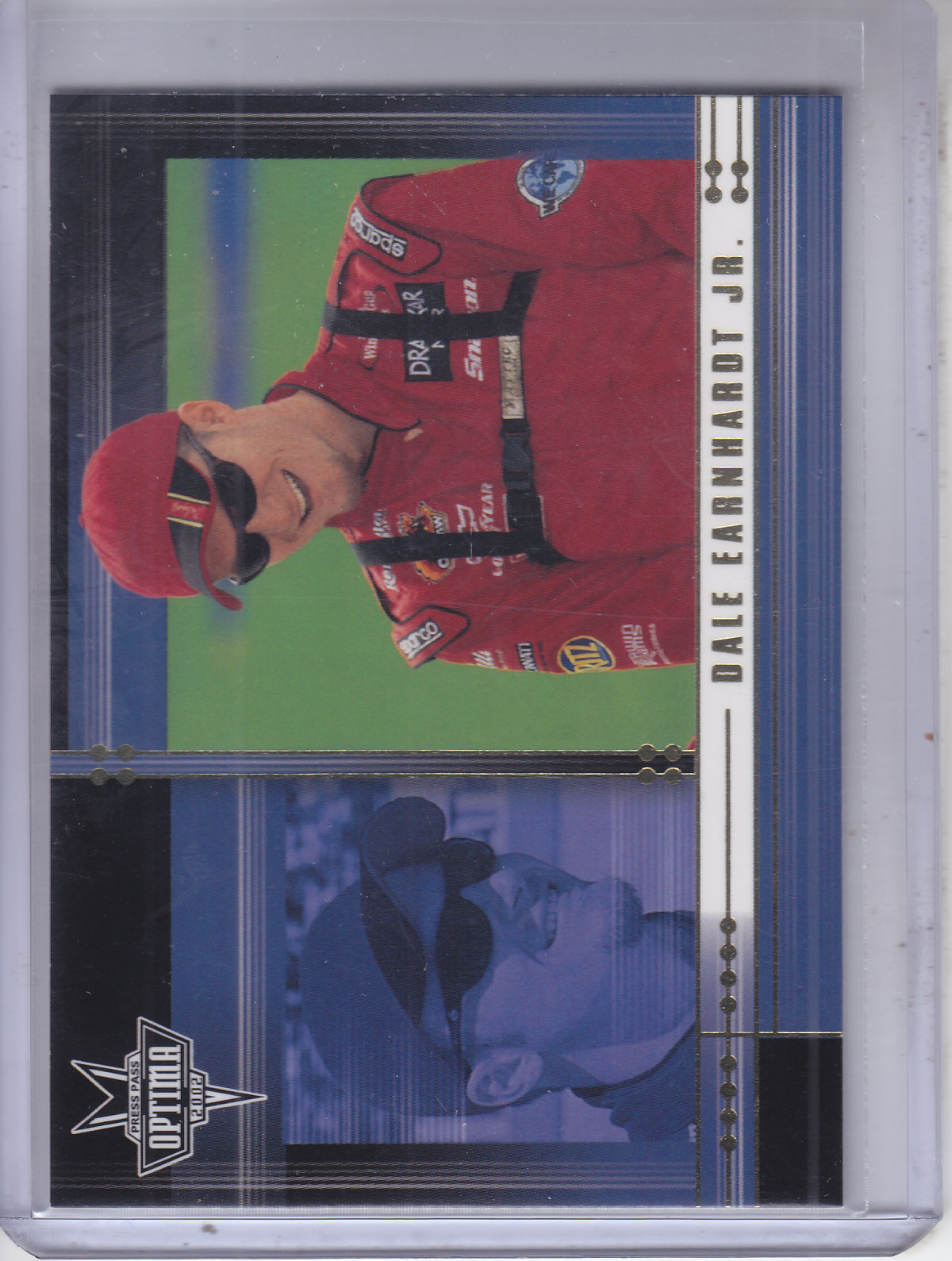 2002 Press Pass Optima Gold #7 Dale Earnhardt Jr.
