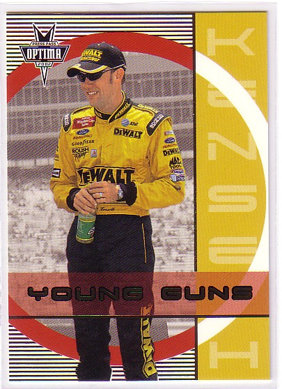 2002 Press Pass Optima Gold #50 Matt Kenseth YG