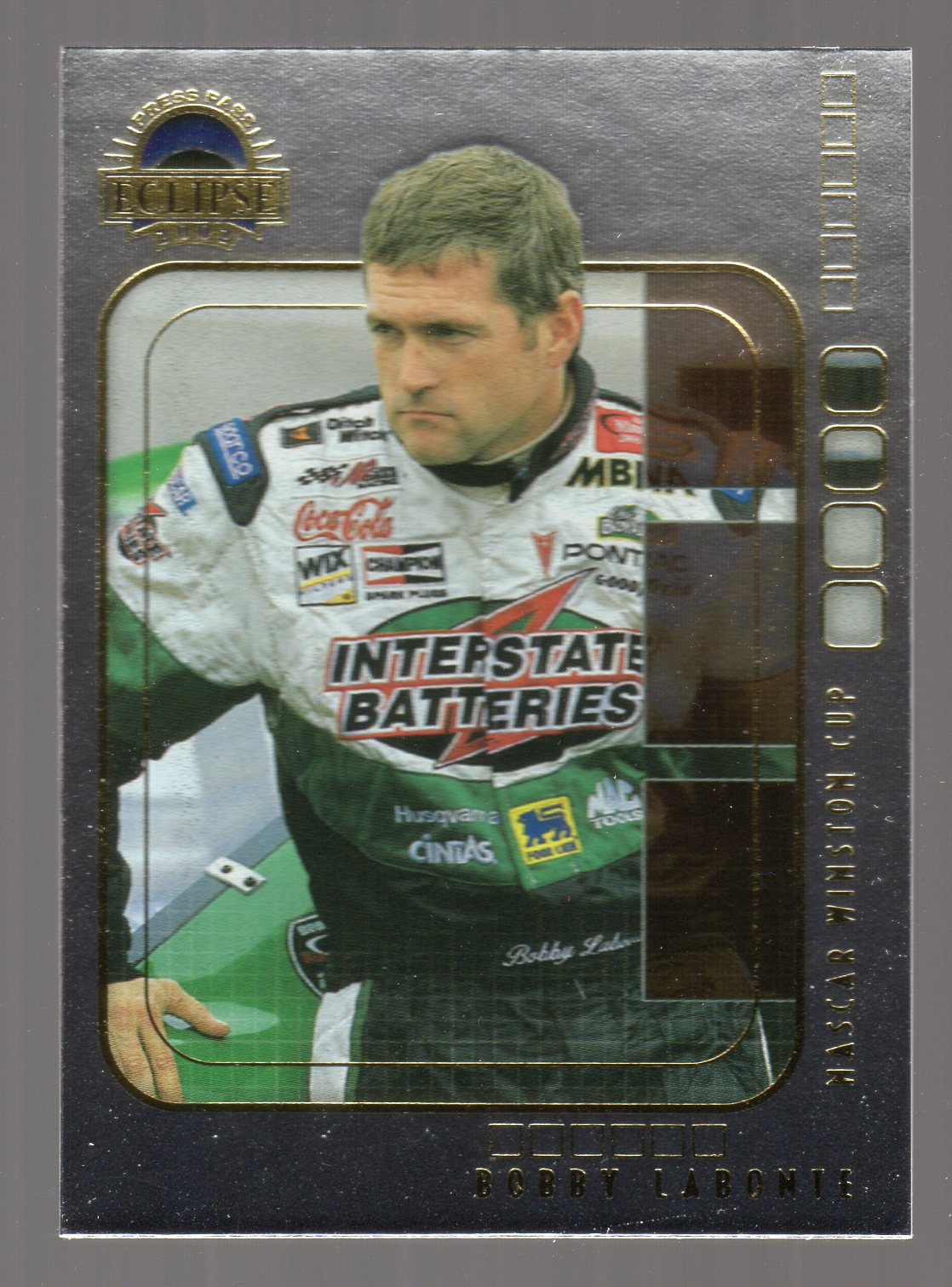 2002 Press Pass Eclipse Solar Eclipse #S6 Bobby Labonte