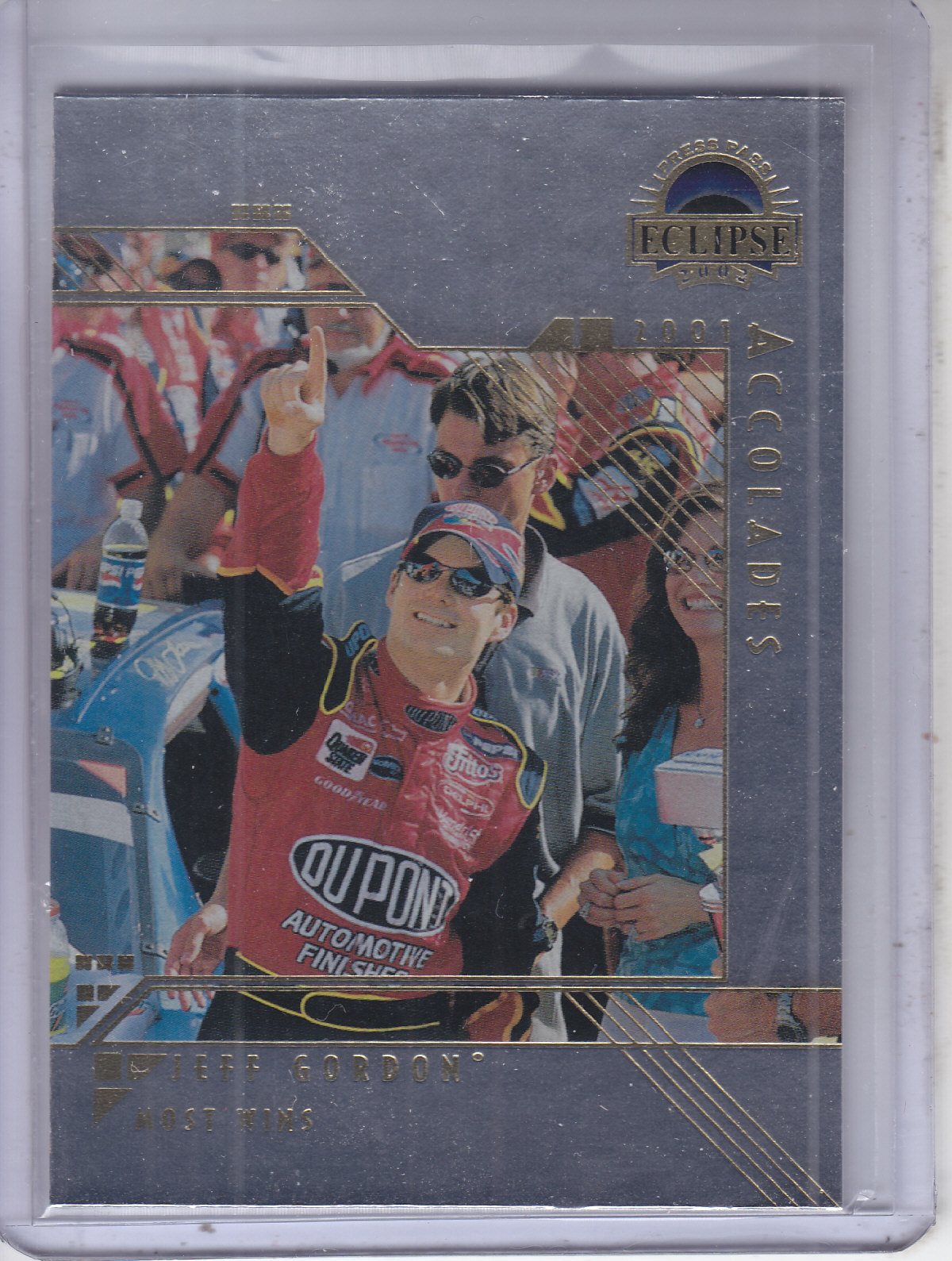 2002 Press Pass Eclipse Solar Eclipse #S30 Jeff Gordon ACC
