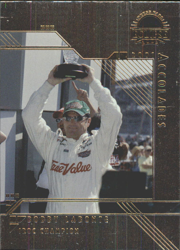 2002 Press Pass Eclipse Solar Eclipse #S34 Bobby Labonte ACC