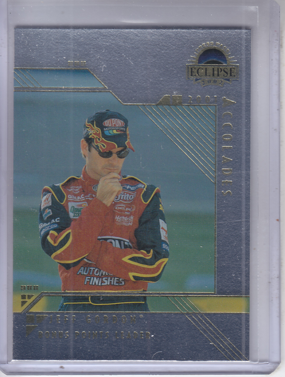 2002 Press Pass Eclipse Solar Eclipse #S35 Jeff Gordon ACC