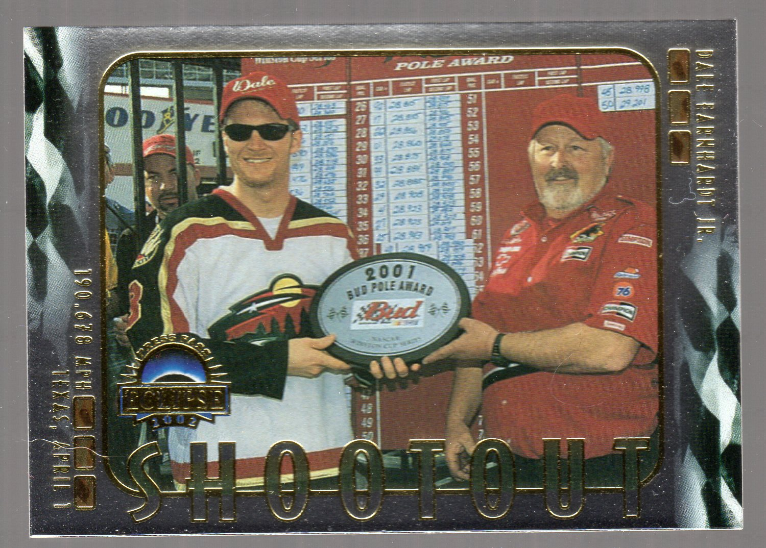 2002 Press Pass Eclipse Solar Eclipse #S40 Dale Earnhardt Jr. SO