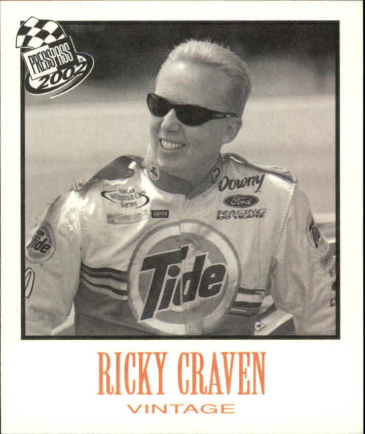 2002 Press Pass Vintage #VN5 Ricky Craven