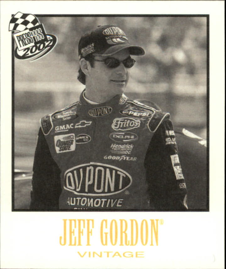 2002 Press Pass Vintage #VN7 Jeff Gordon